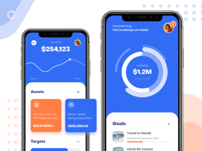 Financial App - Fintech App Dashboard UI