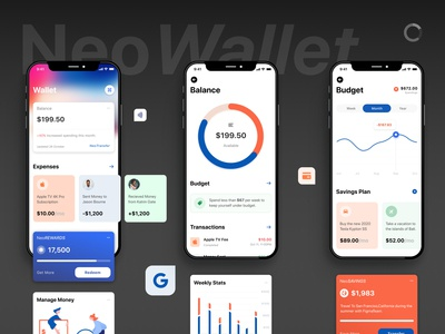NeoWallet - eWallet - Fintech - UI [P1]