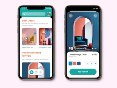 Shopping eCommerce App UI Screens [P1]