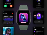 WatchOS UI Design - [SCREEN-FLOW]