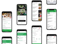 Fresh Food Delivery App UI KIT- [P2]