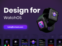 Watch OS App UI UX Design