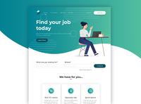 Job landing page
