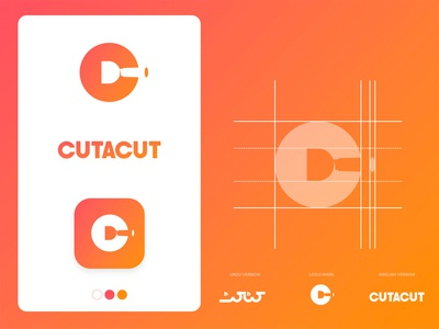 CUTACUT Logo Construction