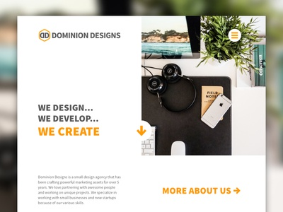 Dominion Designs - New Website in the Works