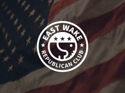 East Wake Republican Club - Logo Design WIP