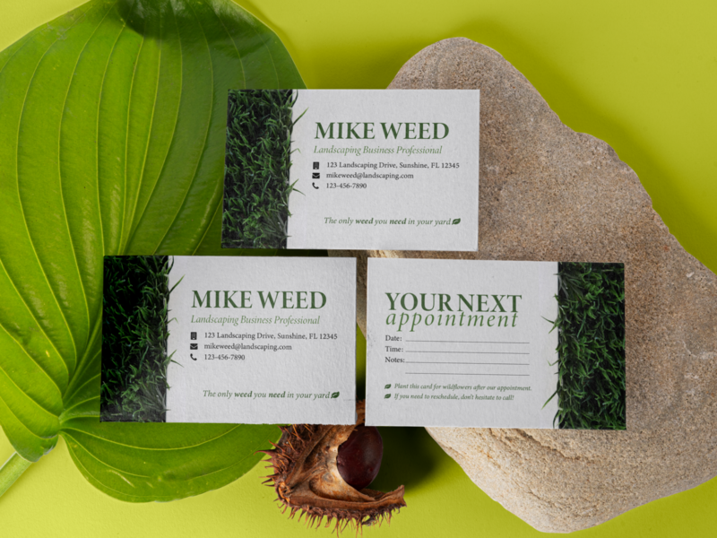 Business Card Mockups small
