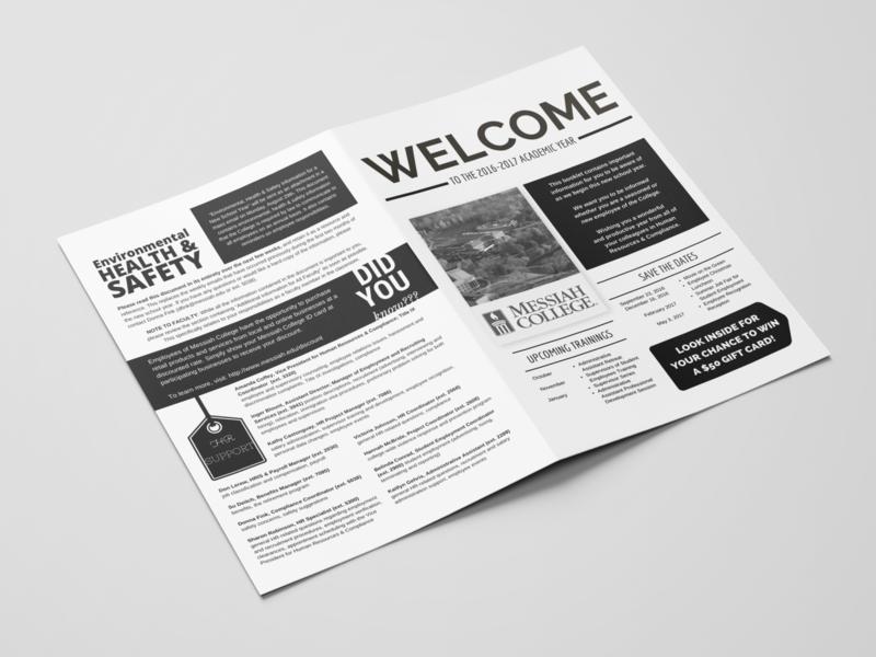 Messiah College HR Employee Newsletter