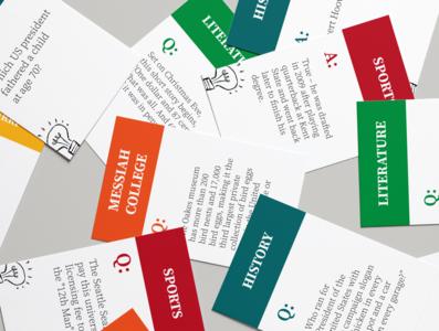 Trivia Q&A Cards
