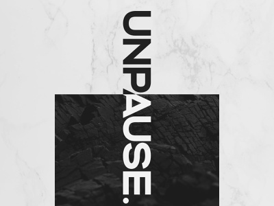 unpause. | Branding logotype logo branding design