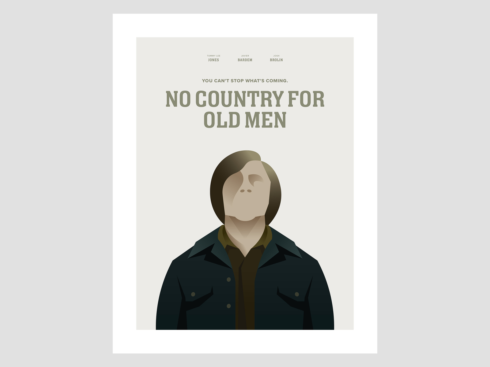 No Country For Old Men Poster By Greg Thomas On Dribbble