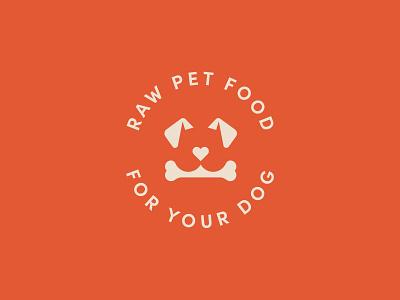 Exoticraw Logobadge pet dog dog logo pet logo dog food pet food minimalist logo badge logo minimal clean design logomark brand identity visual identity branding logo logodesign minimalism logotype
