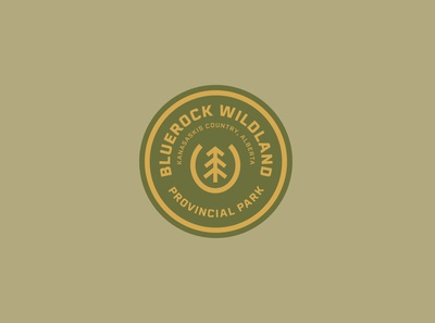 Bluerock Wildland Logobadge