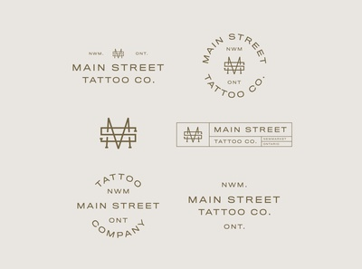 Main Street Tattoo Logo Suite