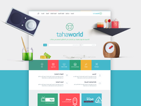 Tahaworld Website Design