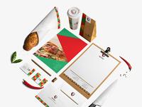Pizza zain branding