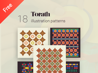 Torath, Arabic patterns in illustration and crafts