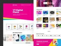 Printira UI/UX Design