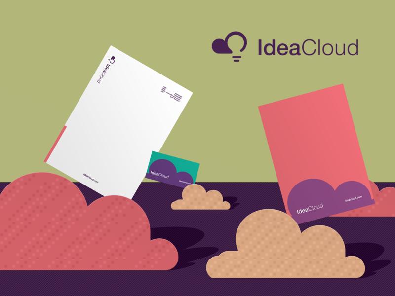 Ideacloud | Brand Identity marketing cloud flat design graphics graphic design illustration vector brand brand identity design branding ideacloud