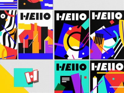 Hello Brand Identity