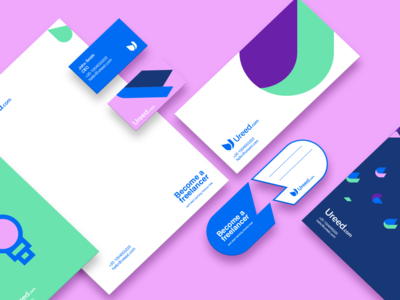 Ureed Brand Design Identity
