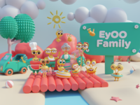 Eyoo 3D illustraiton 3