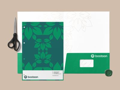Bostaan Brand Identity Design