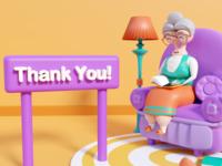 Granny - Eyoo Illustrations