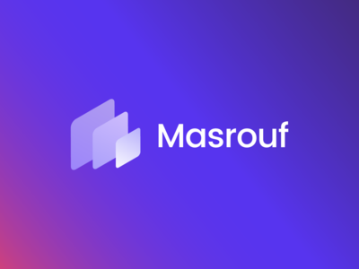 Masrouf Logo & Brand Identity