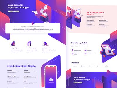 Masrouf UI/UX Design