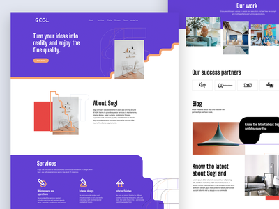 SEGL UI/UX Design webdesign web page website user experience design uxdesign ui design uiux uidesign user experience user interface interaction ux ui segl