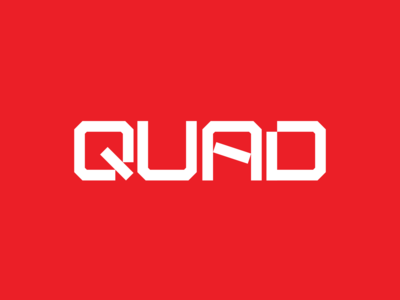 QUAD Logo & Brand Identity Design