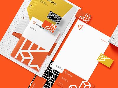 Vendorya Brand Identity Design identity graphic design graphics brand brand identity design branding logodesign logo vendorya