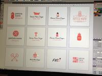 Patricia Marie Designs - Logo Concepts