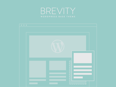 Brevity Wordpress Theme Branding