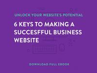 eBook - Building a Successful Website freebie typography illustration icons download website ebook