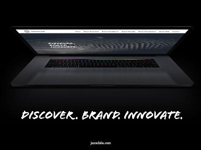 Jaxonlabs Website Mockup graphic design brand identity wordpress mockup website design