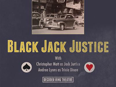Black Jack Justice Podcast Artwork franchise boston spades heart