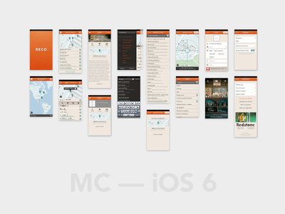 MC — iOS 6 iphone app ios map picture search contact sheet