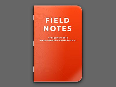 Field Notes Expedition antarctica sketch avenir notebook