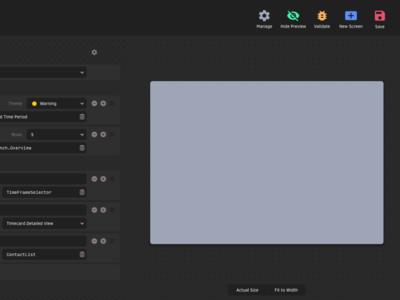 Carrot Cobra — Form Editor Exploration