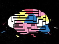 Brain Rotation   Left vs Right side planet universe loop animation loop rotation rotate motion graphics motion graphic motiongraphics motion design animated gif animated animation brain animation brains motion brain