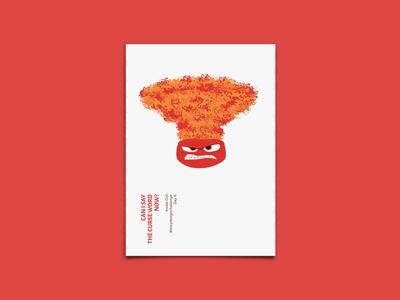 Anger - Poster Design - #easydesignchallenge