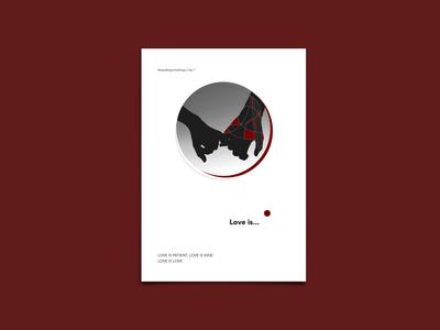 Love is... - Poster Design - #easydesignchallenge