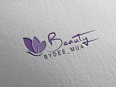 Beauty logo graphic design brand clean identity animation web illustration lettering type typography flat app vector logo minimal design icon branding