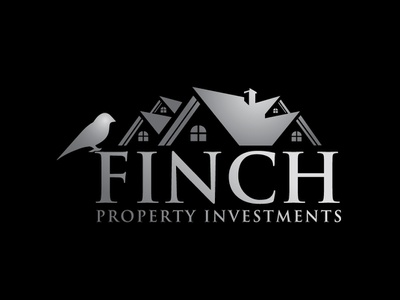 Finch Property Investments app website clean construction real estate typography identity brand type graphic design vector design icon logo minimal flat branding