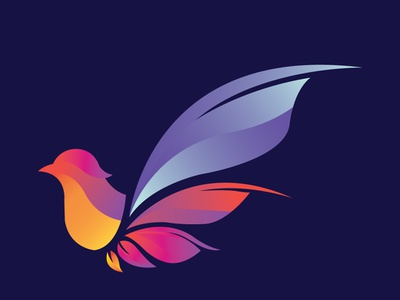 Bird design vector app illustration graphic design typography flat icon logo branding