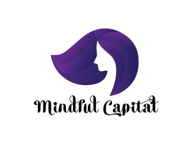 Mindful Capital graphic design vector flat icon design logo branding