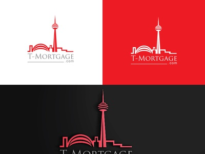 T Mortgage8 design typography minimal icon logo vector branding