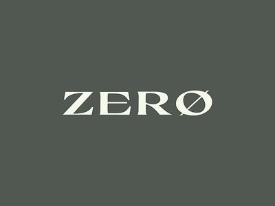 ZERØ zero z z logo logotype logo design branding minimal logomark logo